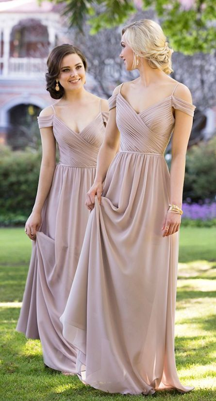 efc16e707745e 2018 Chiffon Off Shoulder A Line Prom Dress Wedding Party Gown Bridesmaid  Dresses